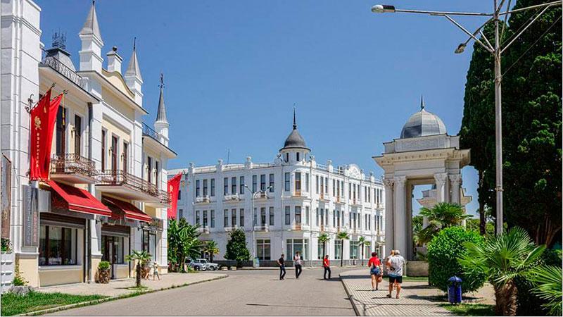 Сухуми - столица Абхазии