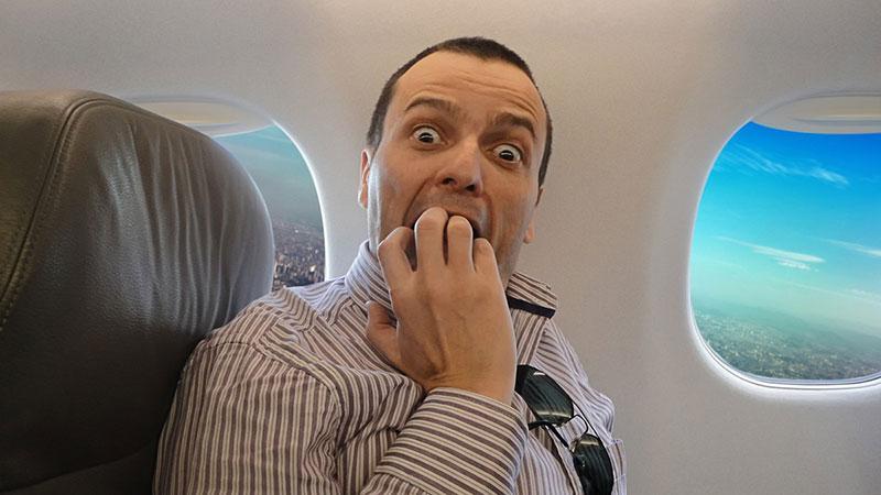 Фобии, которые часто путают с аэрофобиями