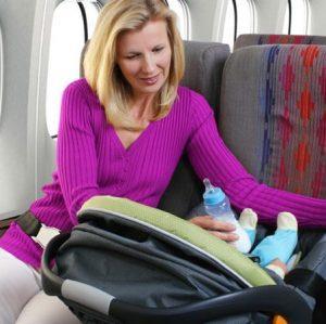 Перелет грудного ребенка в самолете