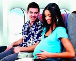 Что если ребенок родился в самолете
