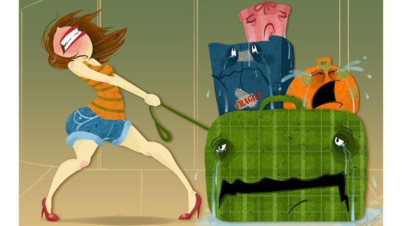 Размеры и вес ручной клади и багажа