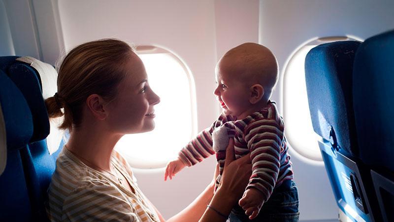 До 2 лет дети летают бесплатно