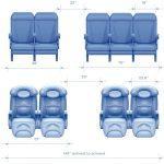 Расположение посадочных мест в самолете Аэробус 320