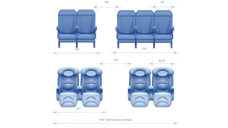 Схема салона Airbus A320 Аэробус