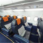 Airbus A320 100 Sharklets: схема салона бизнес-класса