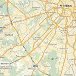 Аэропорт Внуково на карте