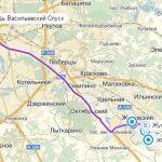 Аэропорты на карте Москвы: Жуковский