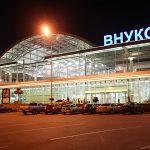 Расположение аэропорта Внуково в городе Москве