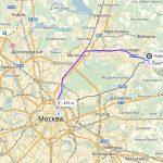 Военный аэропорт Чкаловский на карте