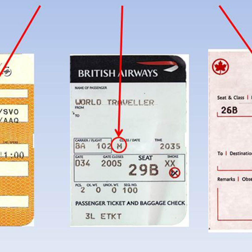 Класс билета на самолет h к чему снятся билеты на самолет