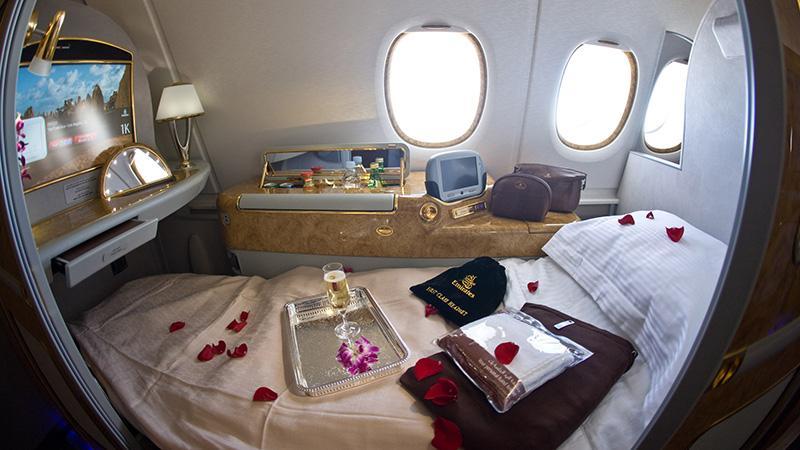 Первый класс в самолете
