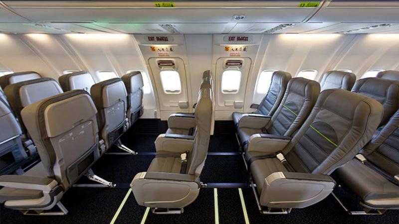 Boeing 737 800: лучшие места эконом салона