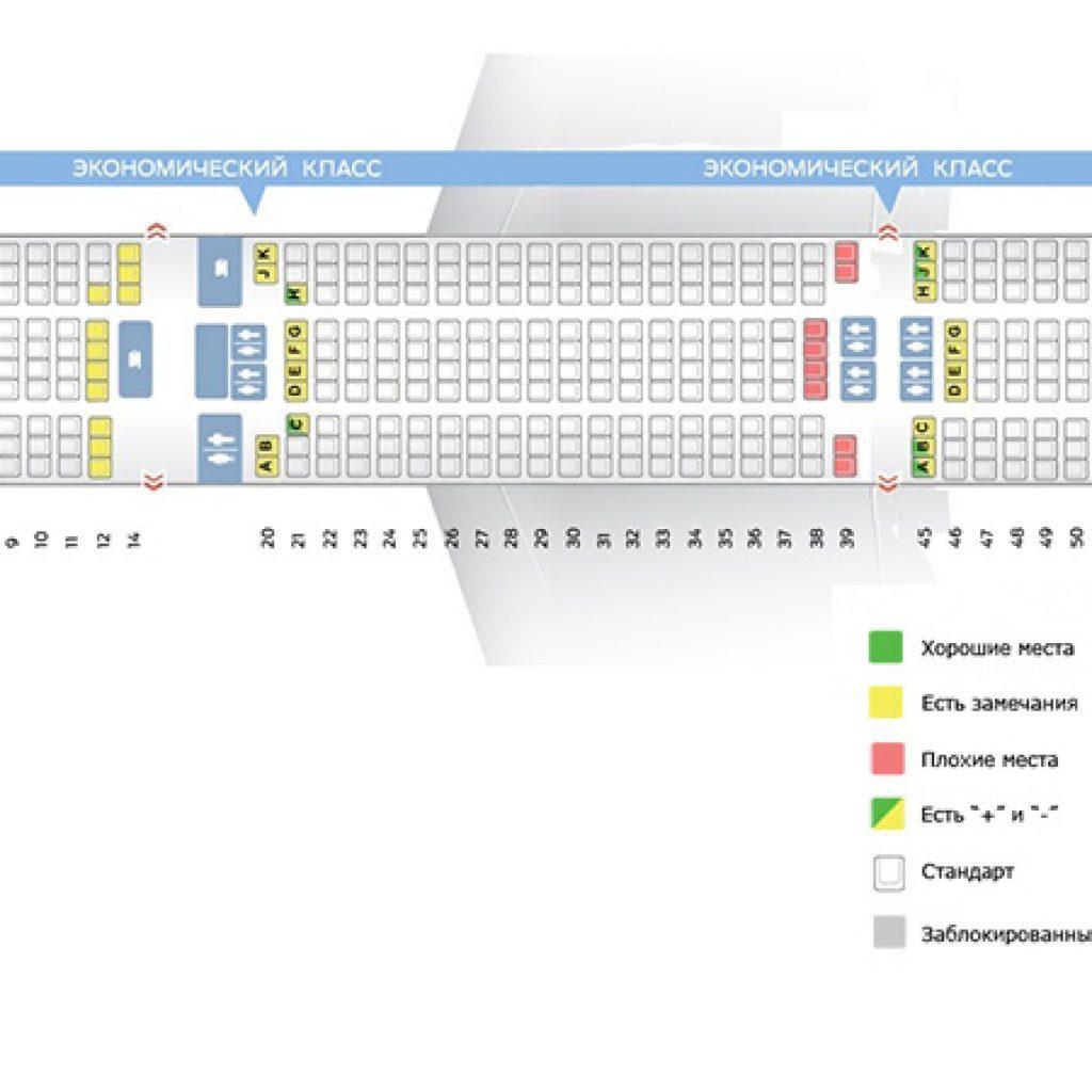 Боинг 737-800 схема