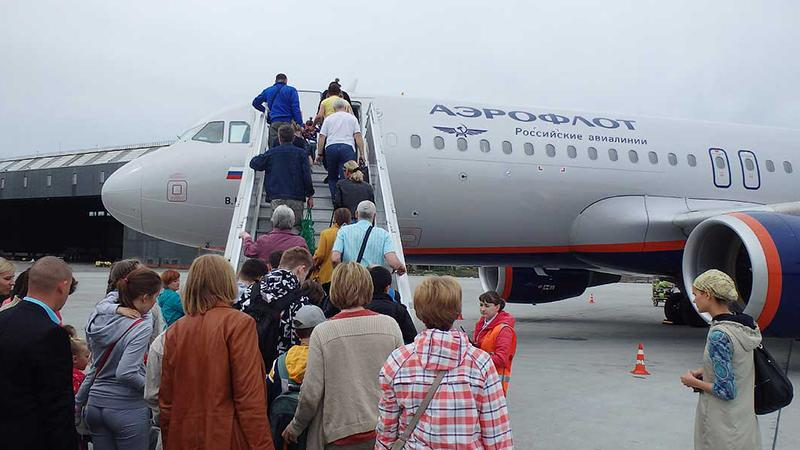 Чемодан для ручной клади в самолете