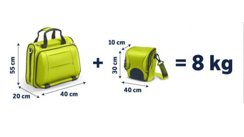 Габариты чемодана для ручной клади в самолет