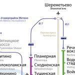 Как доехать до Шереметьево на метро
