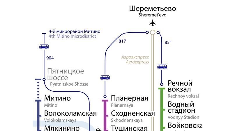 """Как добраться до Шереметьево на """"Аэроэкспрессе"""""""