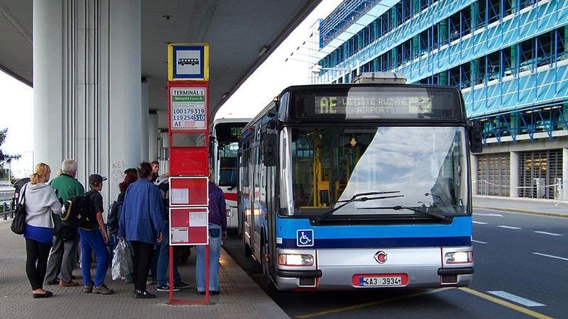 Как добраться из аэропорта в Прагу?