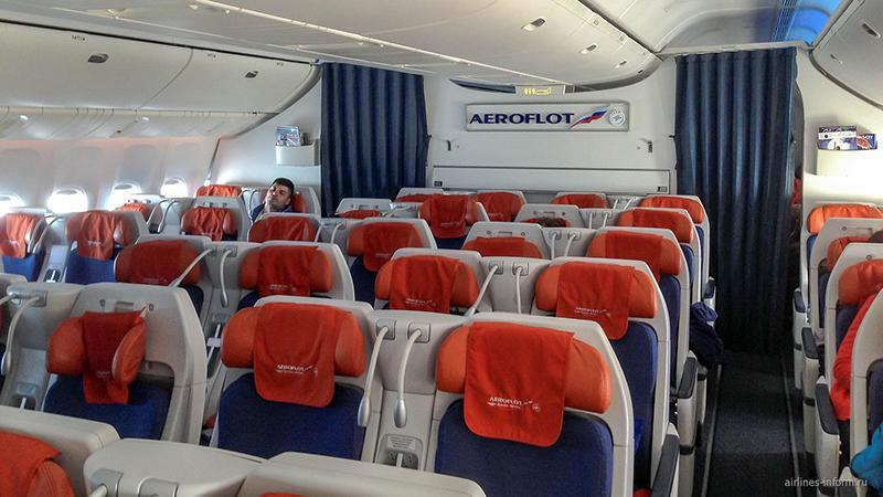 Боинг 777 300 Аэрофлот: лучшие места эконом салона