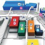 Аэропорт Фьюмичино: схема