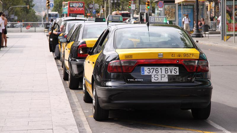 Как доехать до центра Барселоны на такси