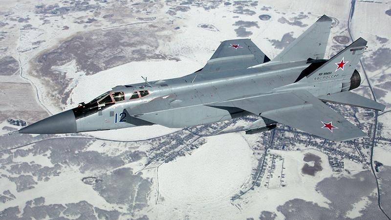 Российский самолет Миг-31