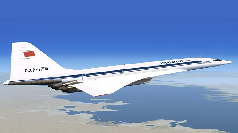 Самый быстрый пассажирский самолет в России