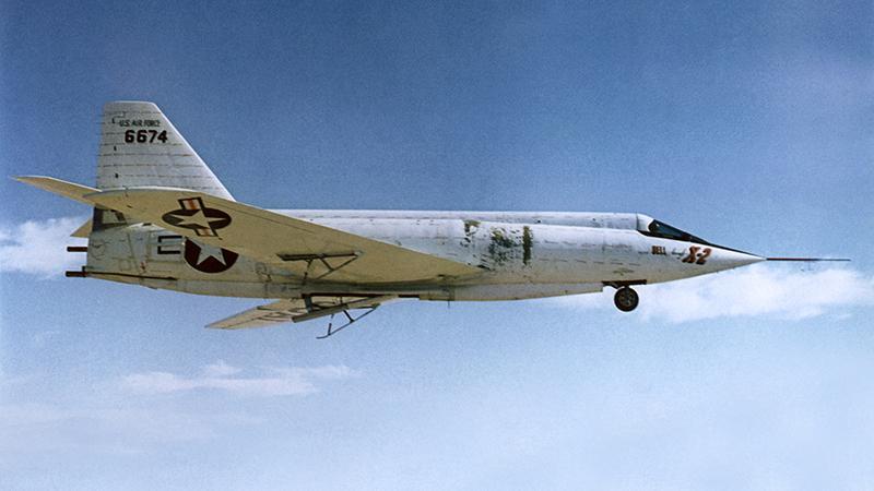 Максимальная скорость самолета Bell X-2 Starbuster