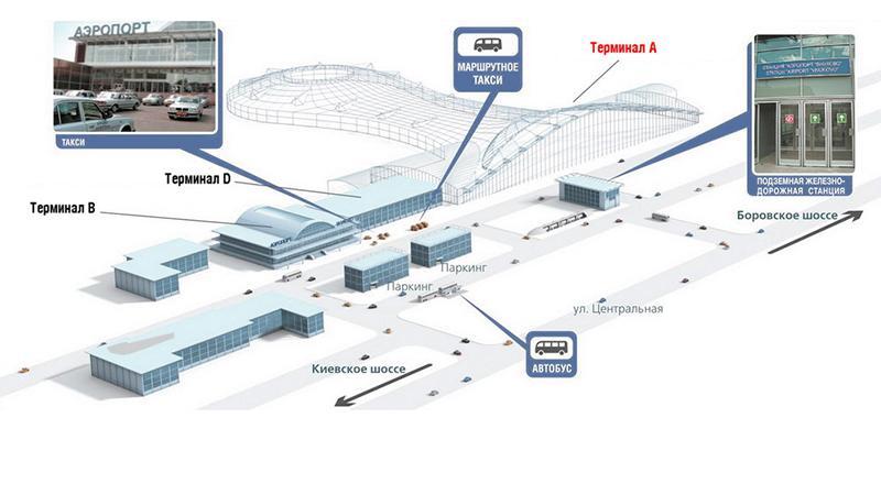 Схема аэропорта внуково терминал а фото 816