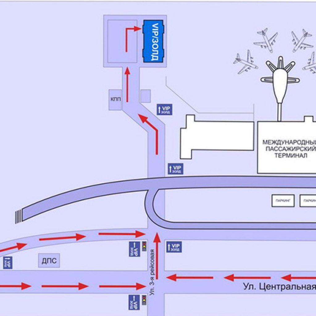 Схема подъезда на машине в домодедово