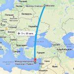 Как летит самолет до Кипра из Москвы