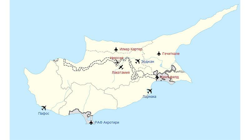 Перелет Москва-Пафос: аэропорты Кипра