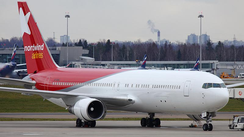 """Боинг 767 300 авиакомпании """"Норд Винд"""""""