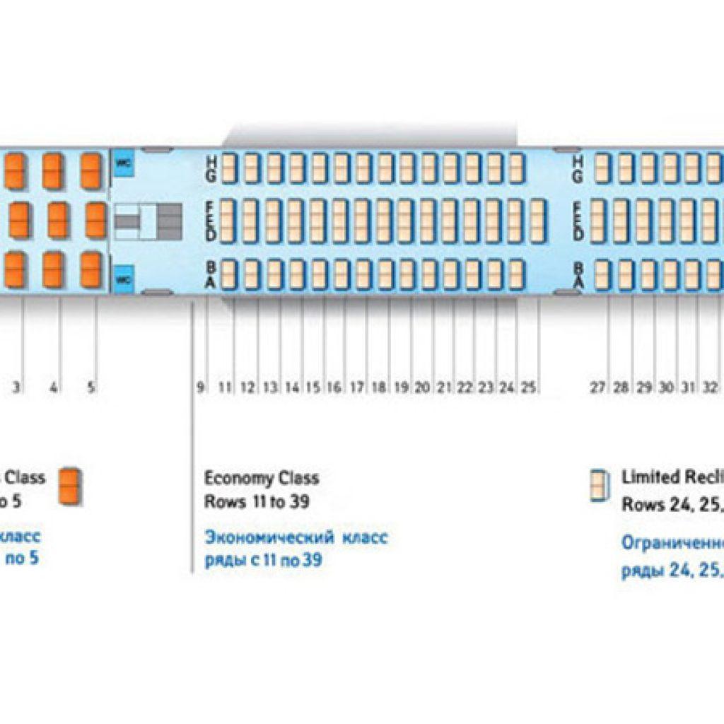 Боинг 767 300 трансаэро схема салона и лучшие места.
