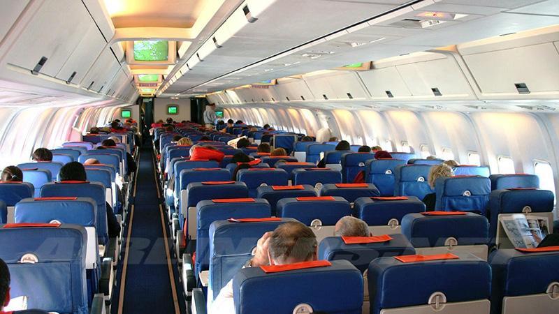 Схема установки мест в самолете Боинг 767 300