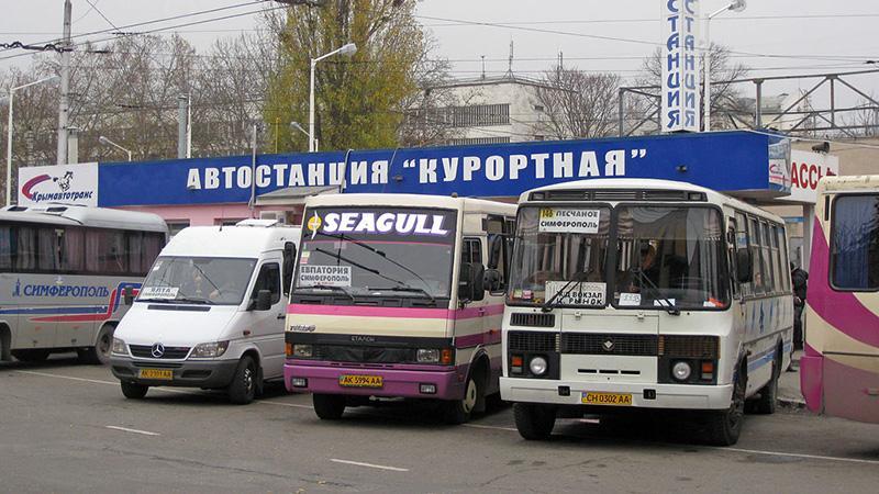 Как доехать до Симферополя из Аэропорта: общественный транспорт
