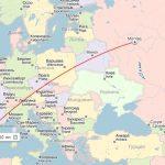 Расстояние Москва-Барселона: сколько лететь по времени