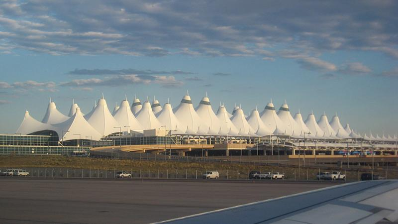 Денвер: самые большие аэропорты мира