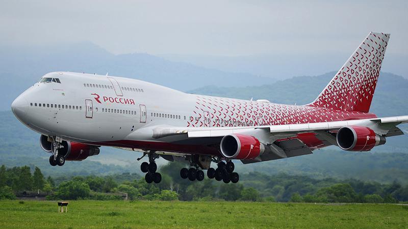 """Boeing 747 400 Jet """"Россия"""": схема и особенности"""