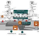 План аэропорта Домодедово с выходами