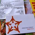 "Тарифы на проезд ""Аэроэкспрессом"" в аэропорт Домодедово"