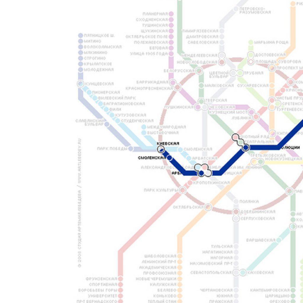 Как доехать из внуково до курского вокзала на метро схема