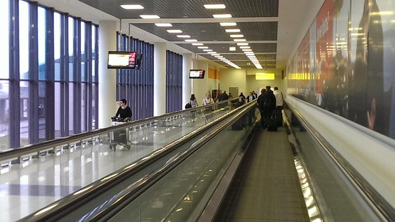 """Шереметьево: как пройти из терминала """"D"""" в терминал """"F"""""""