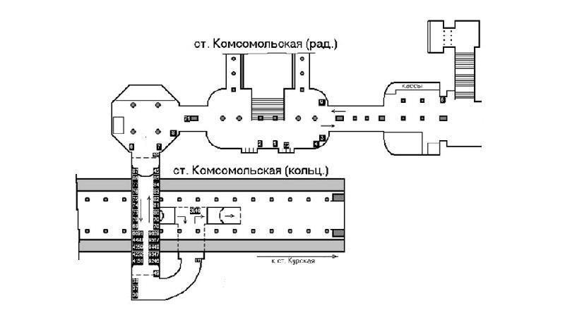 Метро: как проехать до Внуково с Ярославского вокзала
