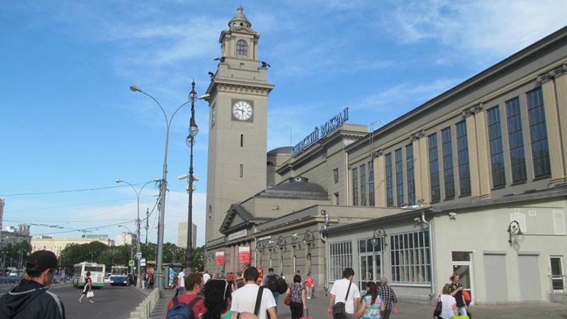 Путь Внуково-Ярославский вокзал