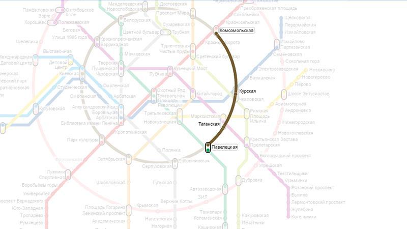 Как проехать от Казанского вокзала до Домодедово