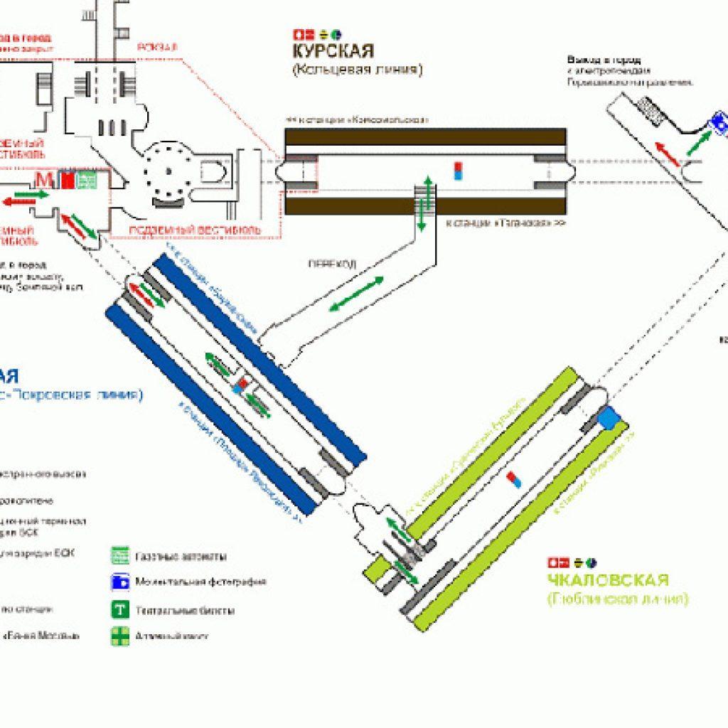 Курский вокзал схема вокзала ласточка
