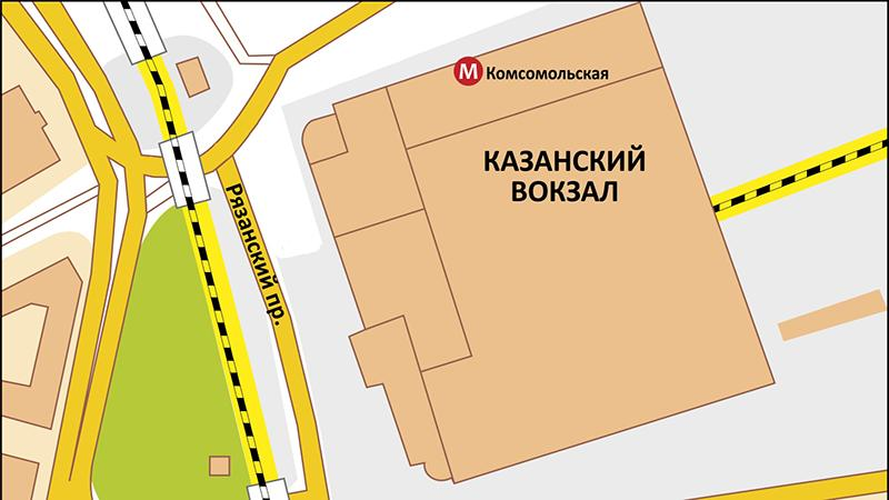 Казанский вокзал-Внуково: как добраться