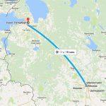 Время полета Москва-Питер