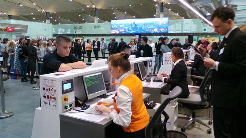 Первый раз на самолете: регистрация
